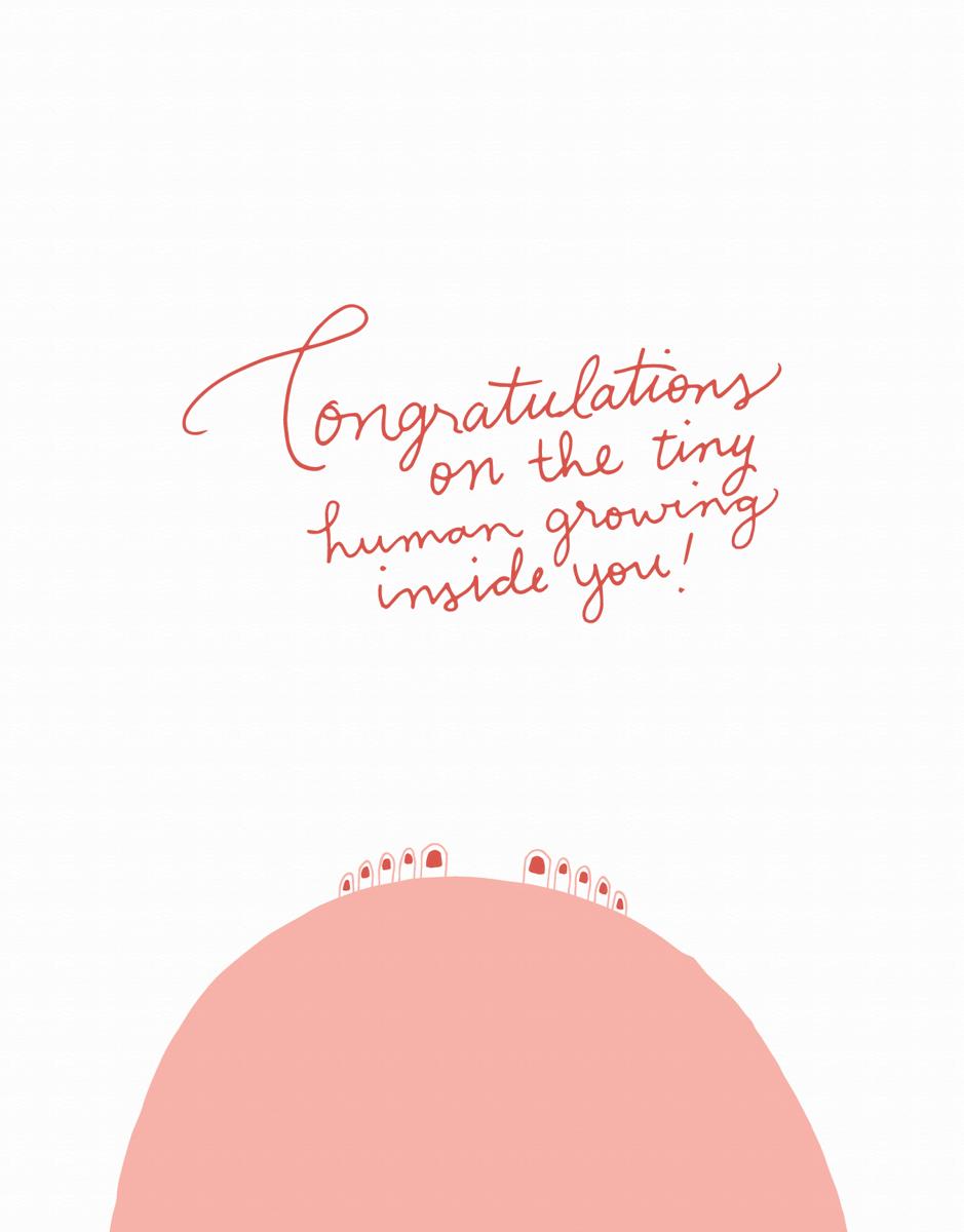 Congrats Tiny Human
