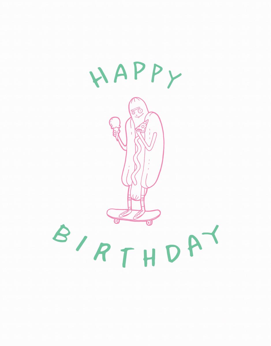 Hotdog Birthday
