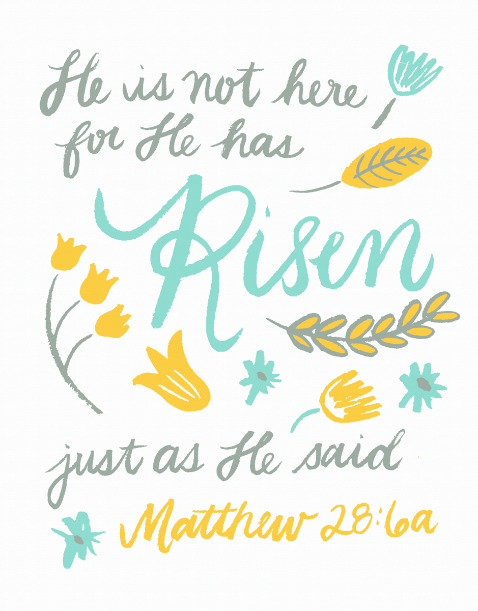 Easter Bible Verse