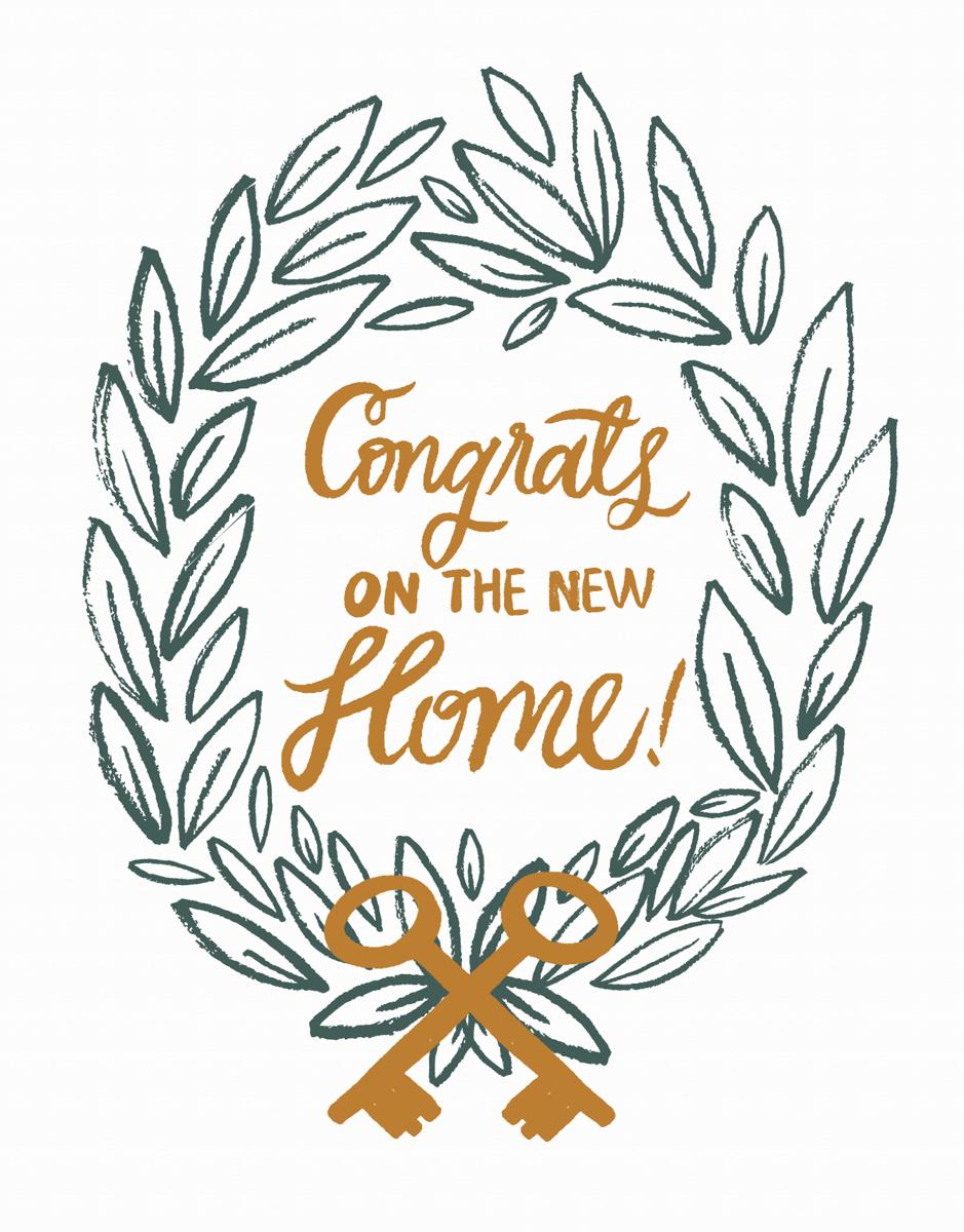 New Home Wreath