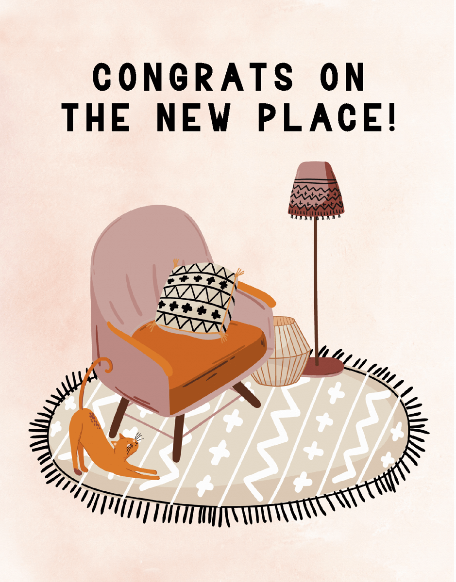 Congrats On The New Place
