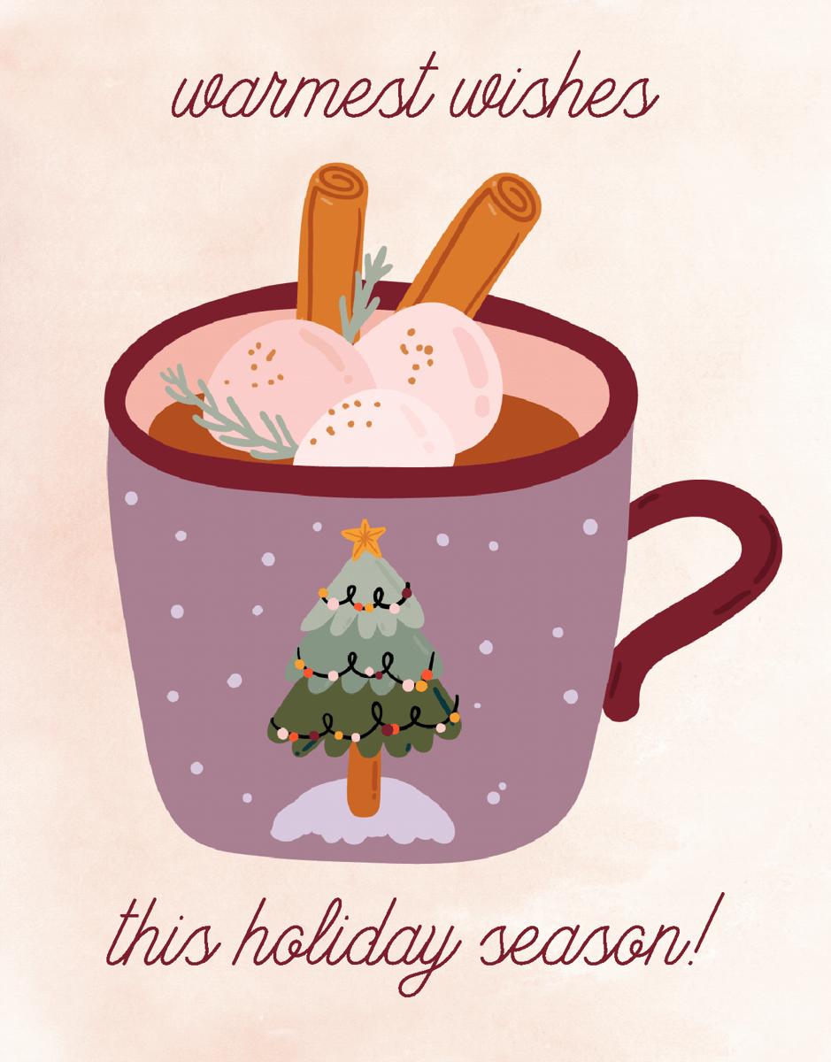 Warmest Wishes Mug