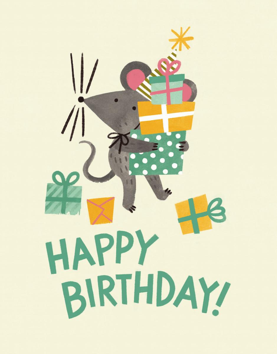 Birthday Mouse