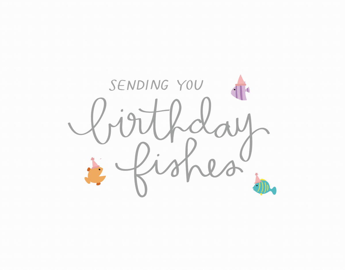 Birthday Fishes