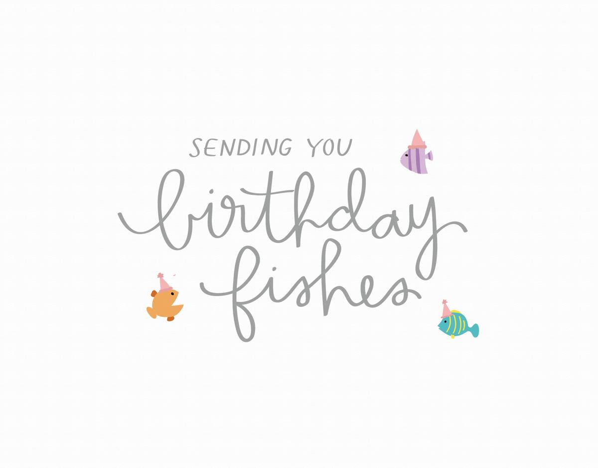 Birthday Fishes