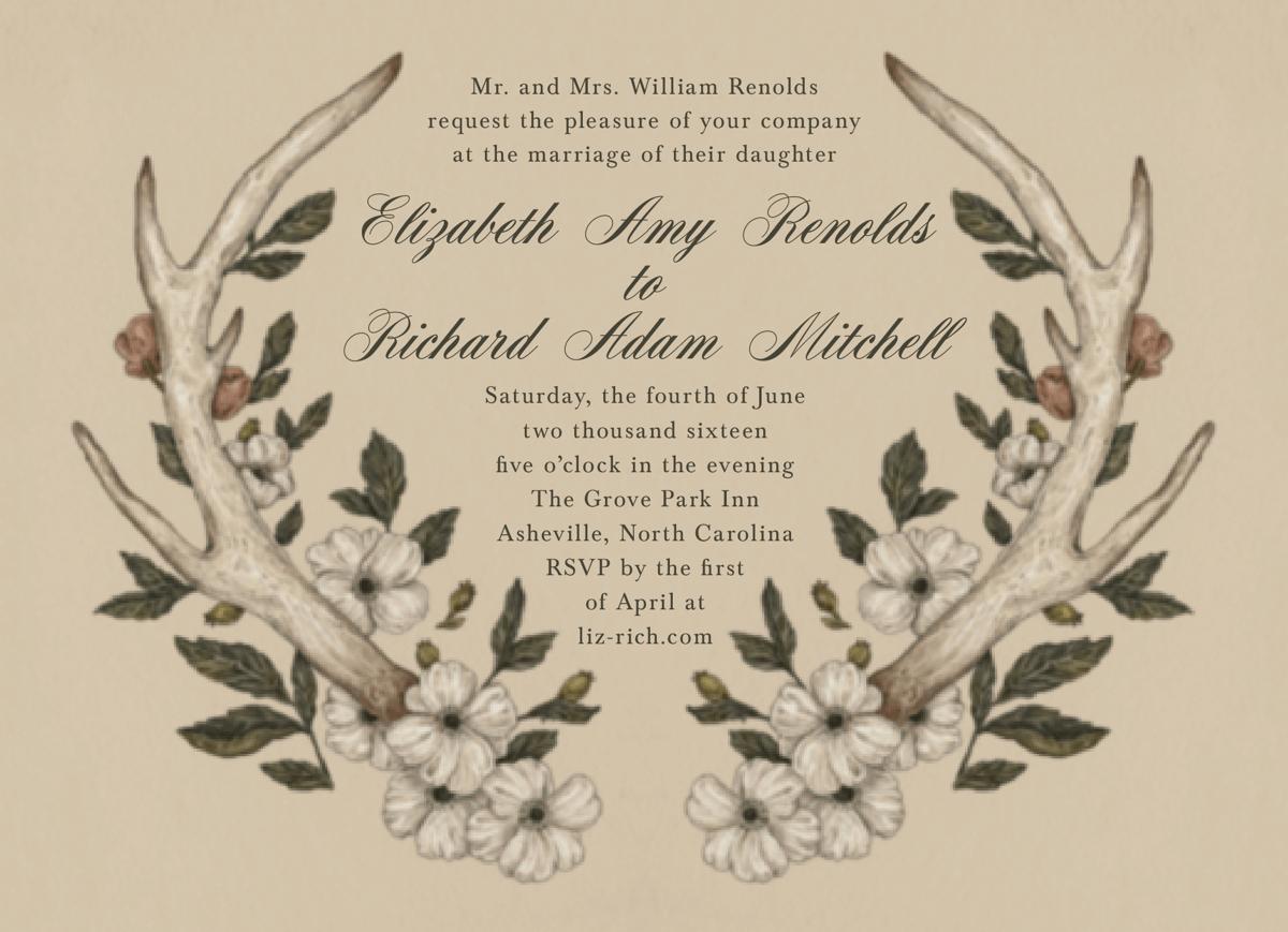Antler Invitation