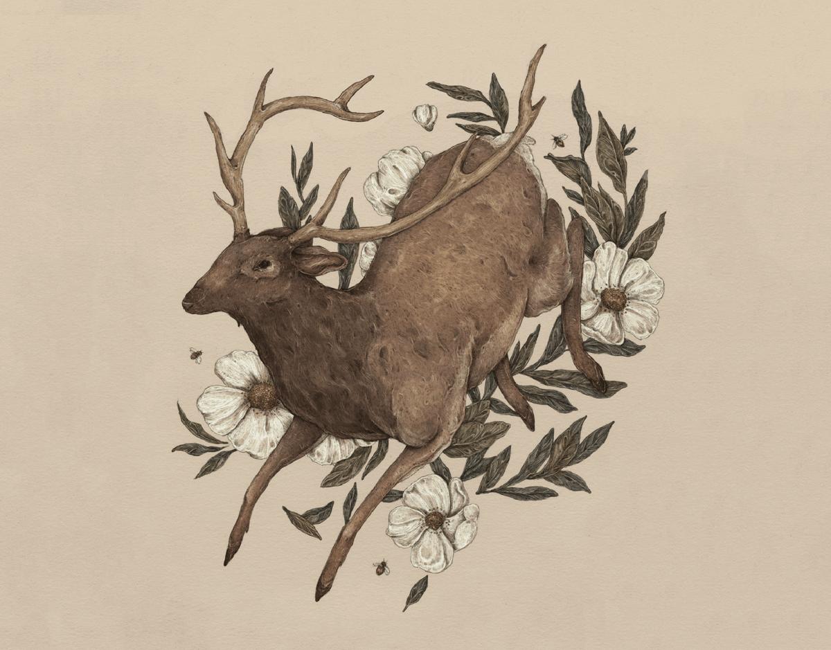 Floral Elk