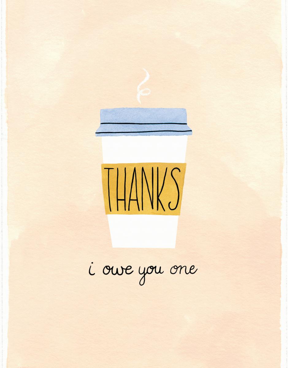 Coffee Thanks