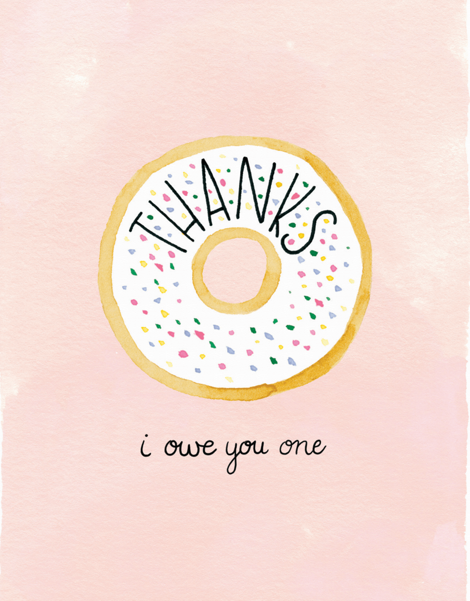 Thanks Donut