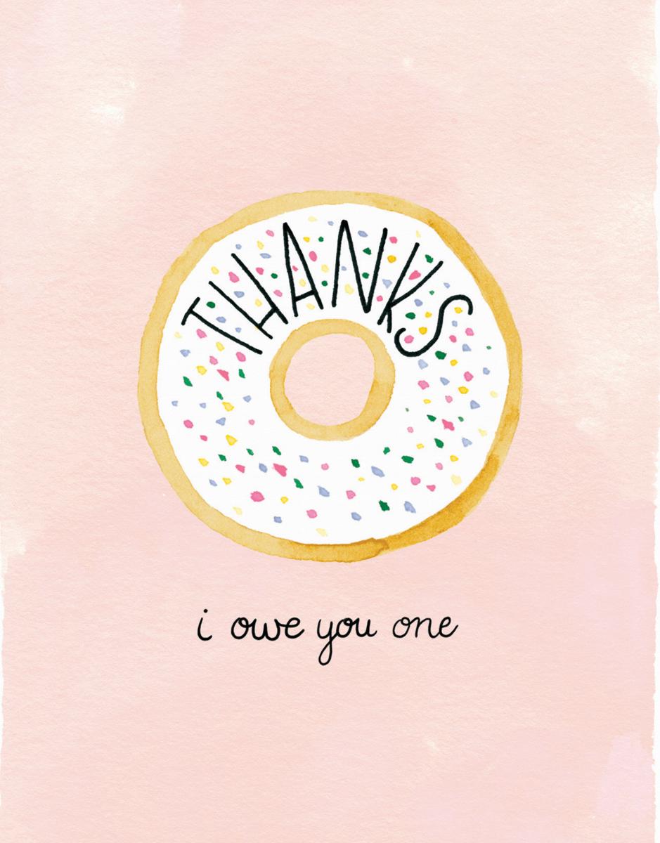 Thanks Donut