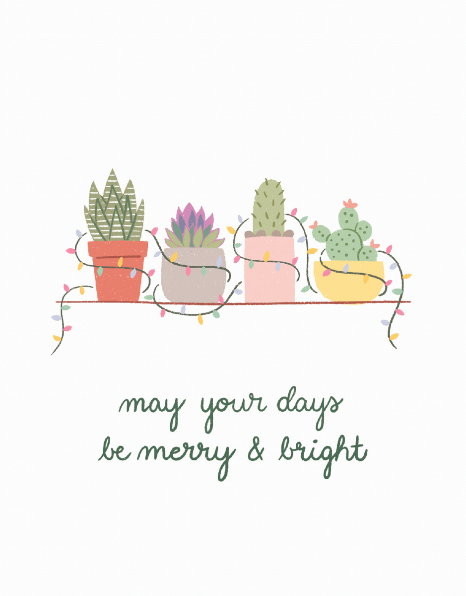 Merry And Bright Plants
