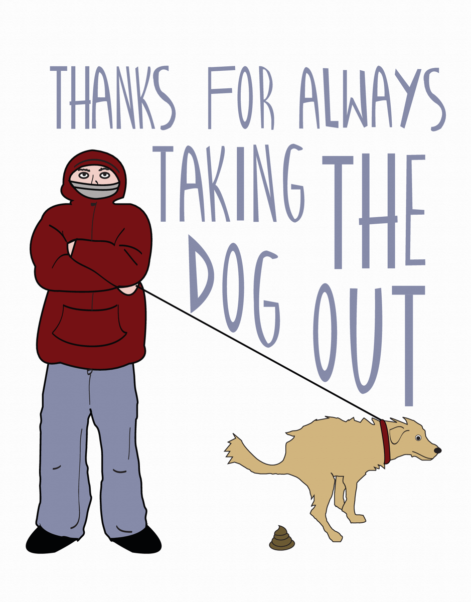 Taking The Dog Out
