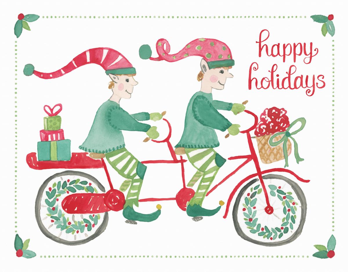 Biking Elves