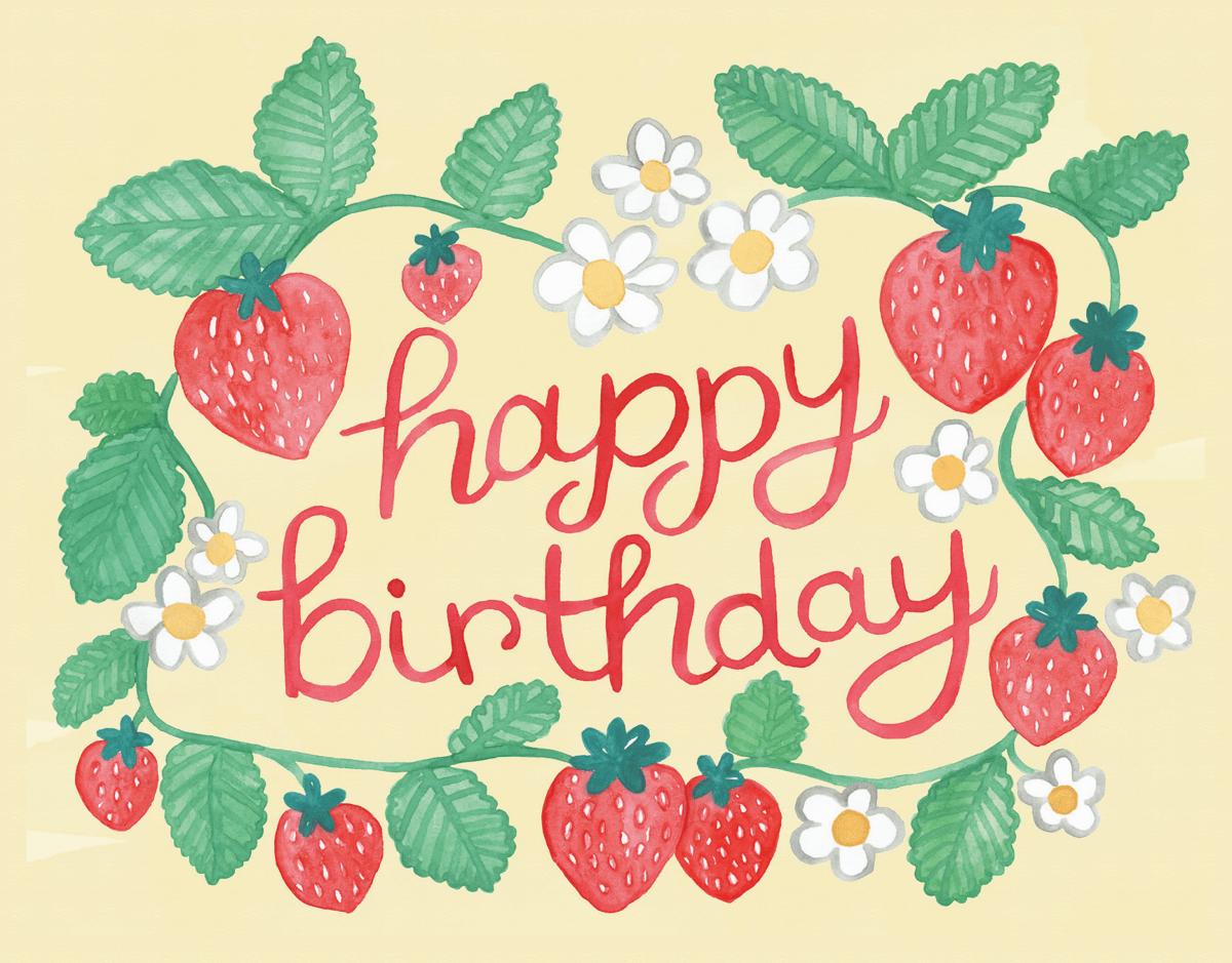 Strawberry Birthday