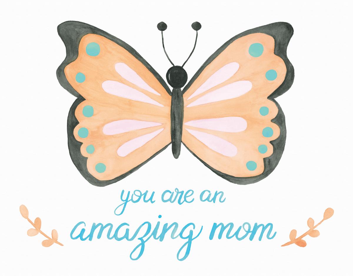 Butterfly Mom