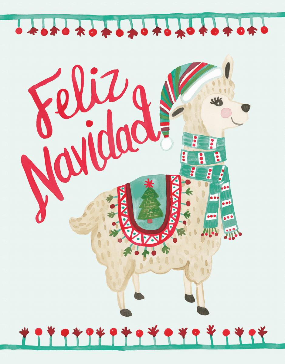 Holiday Llama