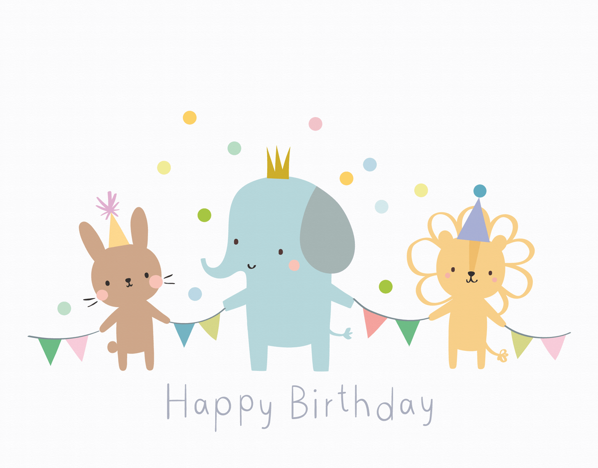 Animal Birthday Parade