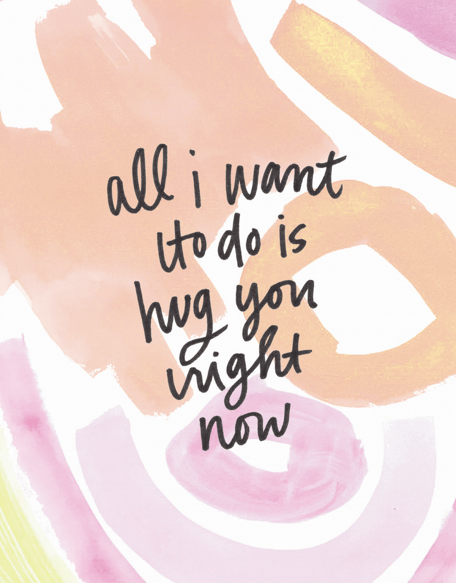 Hug You Right Now