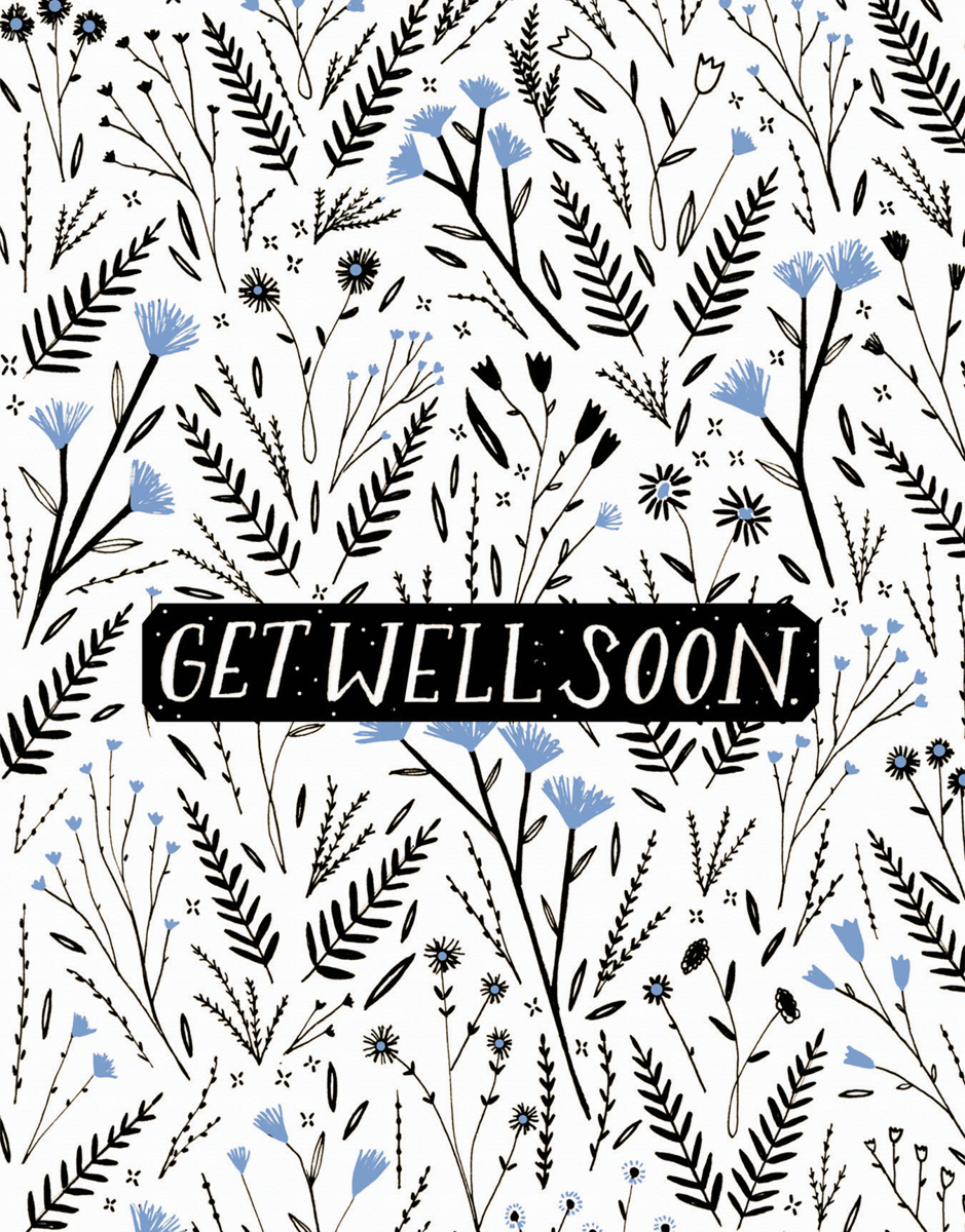 Get Well Soon Floral