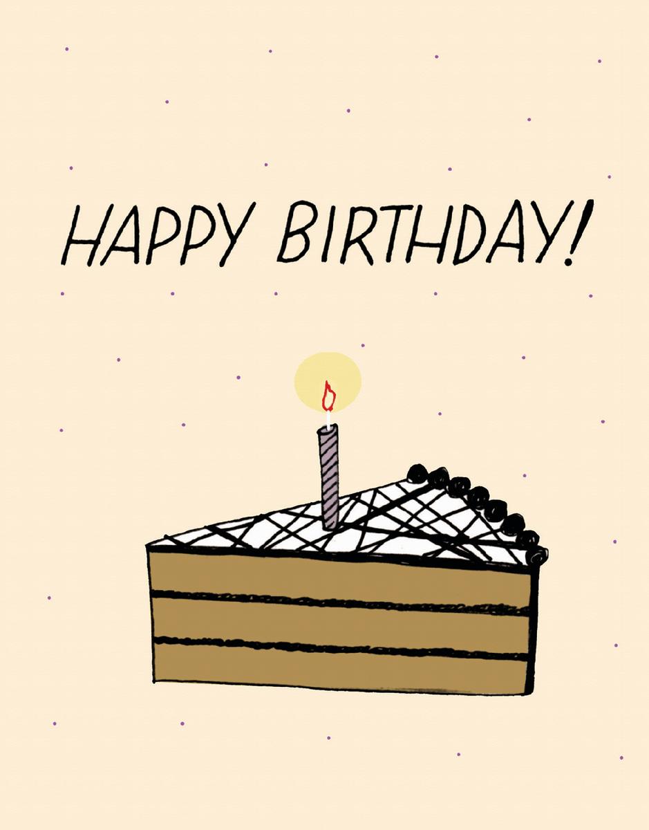 Yellow Cake Slice