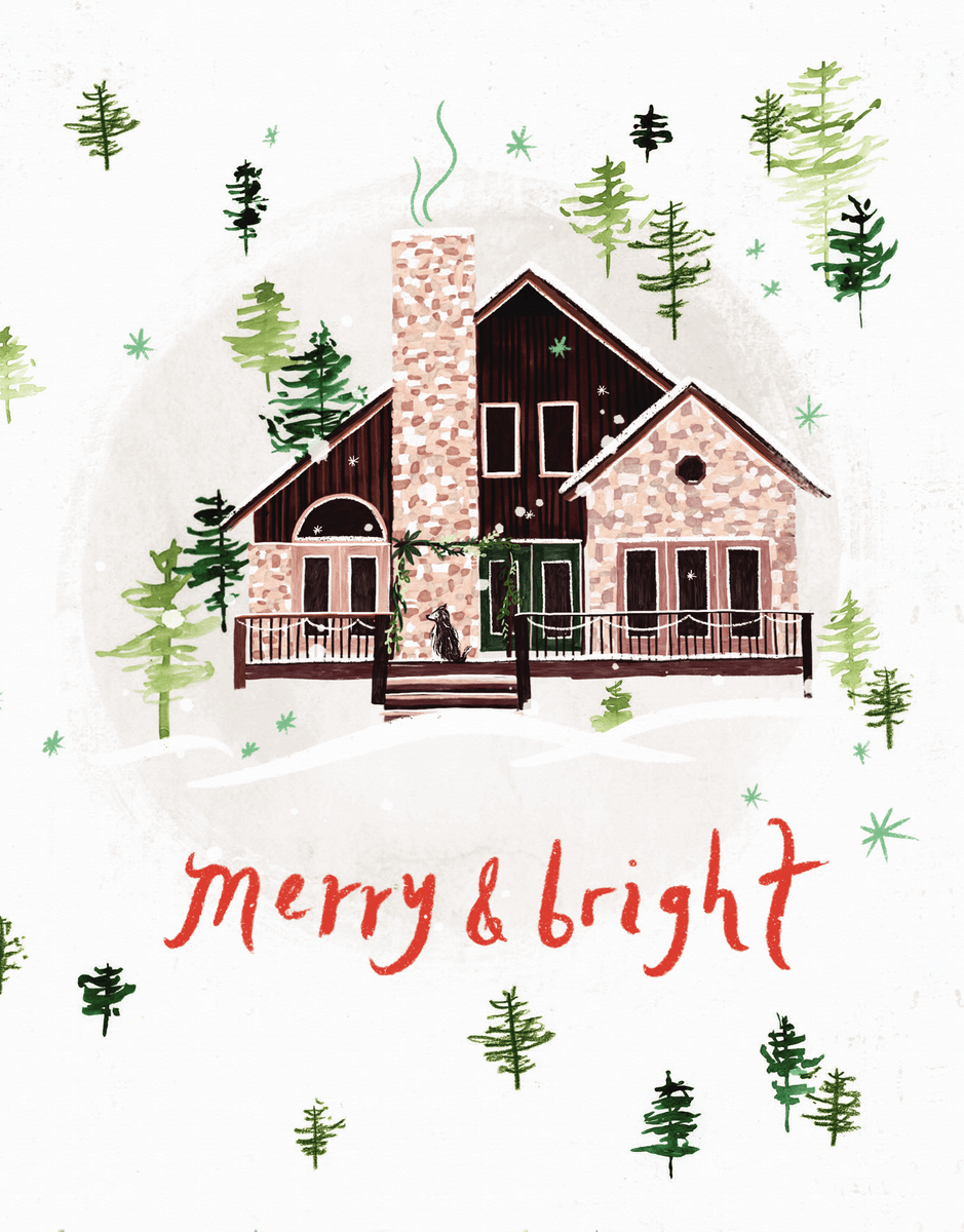 Merry And Bright House