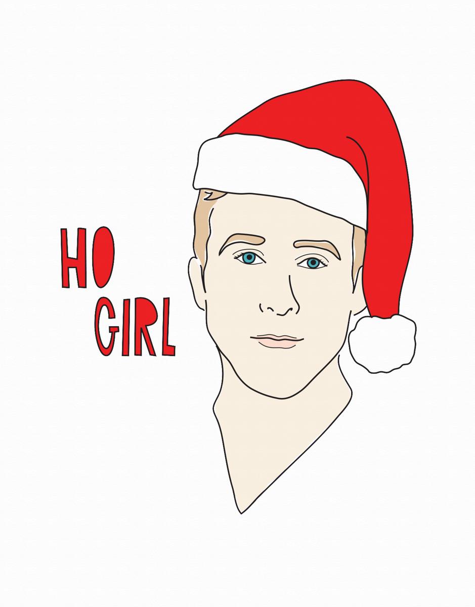 Ho Girl Holiday Card