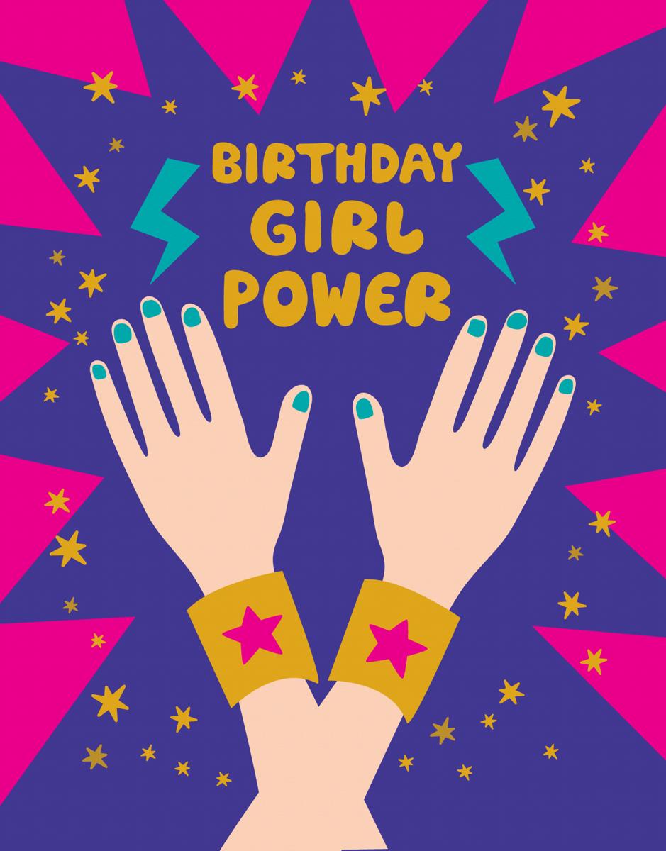 Birthday Girl Power