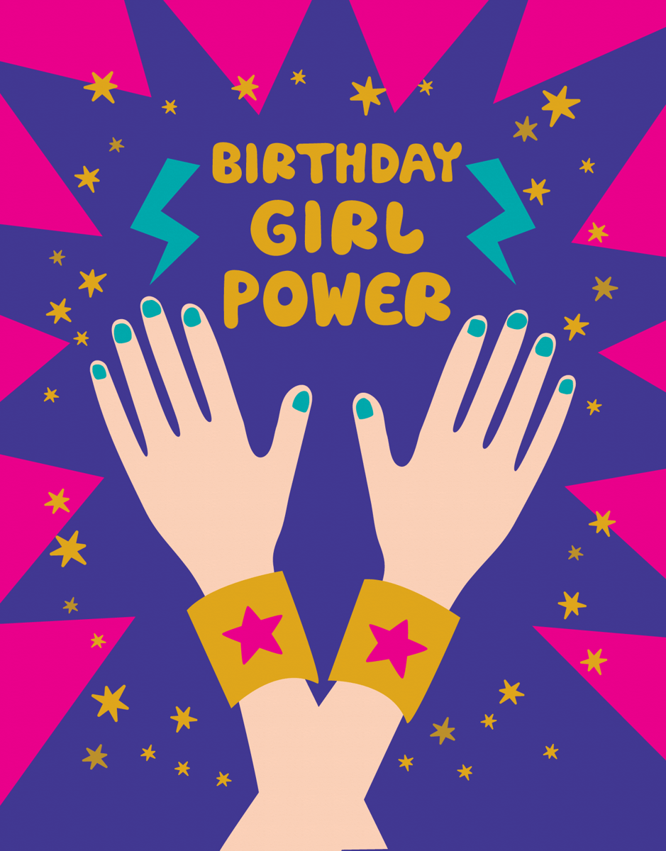 Birthday Girl Power