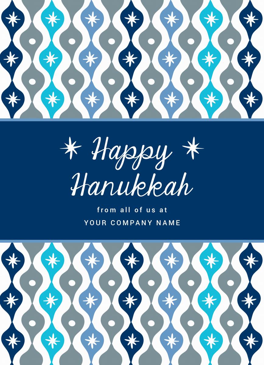 Festive Hanukkah