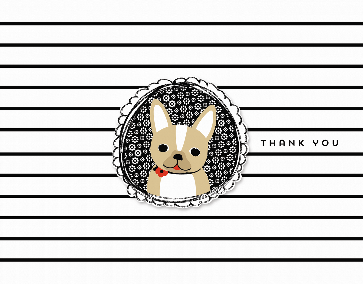 Frenchie Thank You