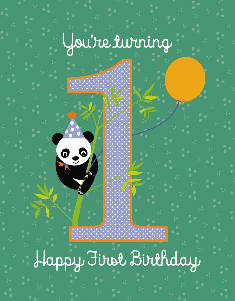 Turning One Panda