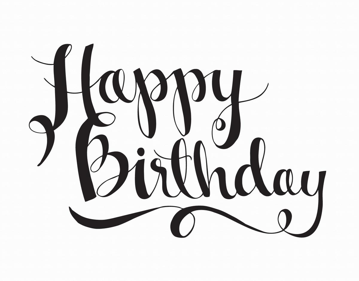 Designer business birthday cards Image