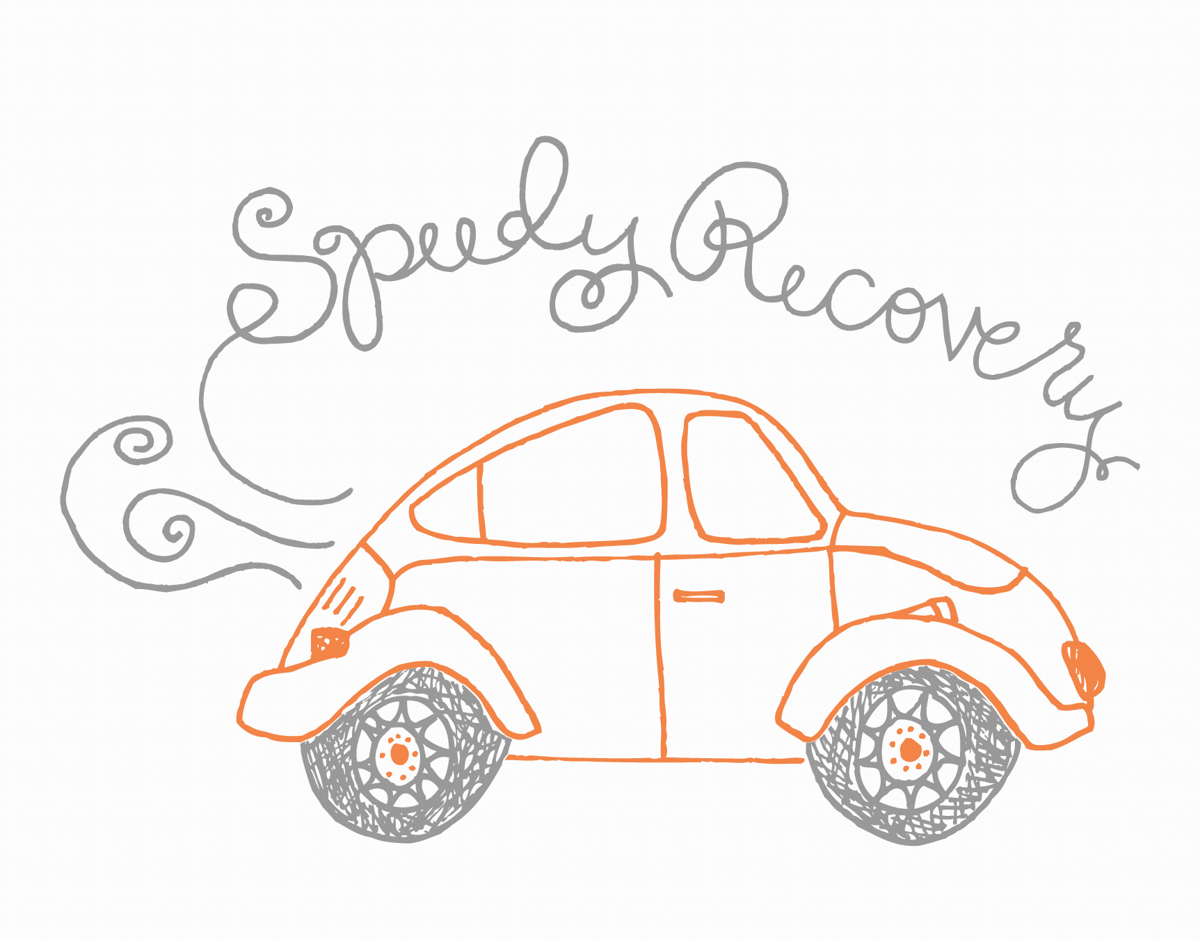 Speedy Recovery by Isabel Davis | Postable
