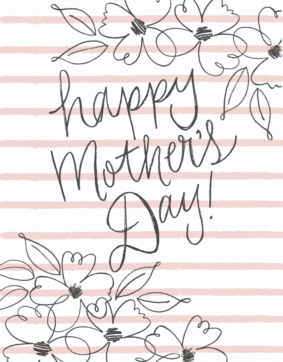 Blush Mother's Day