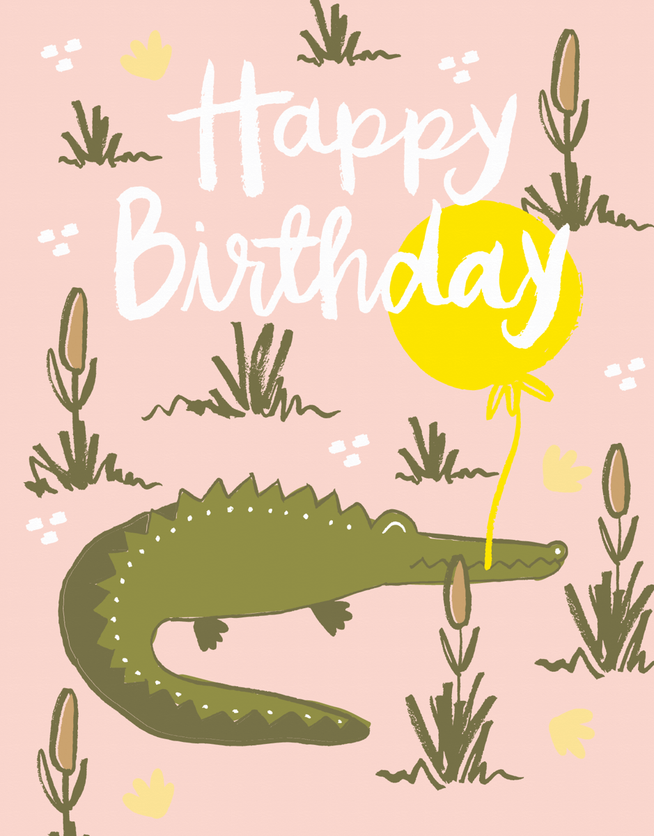 Gator Birthday