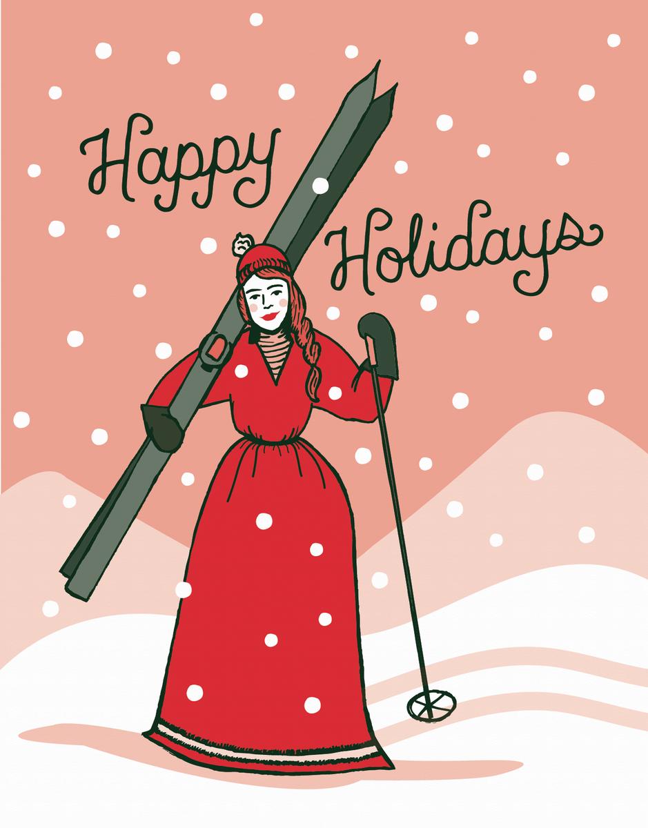 Ski Lady