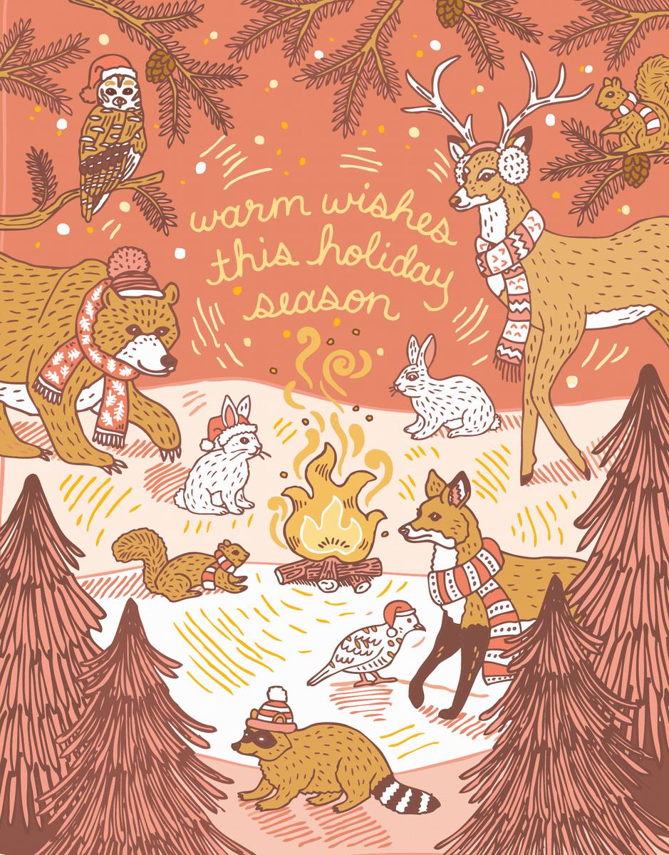 Woodland Holiday Season