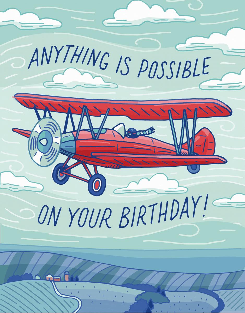 Birthday Airplane