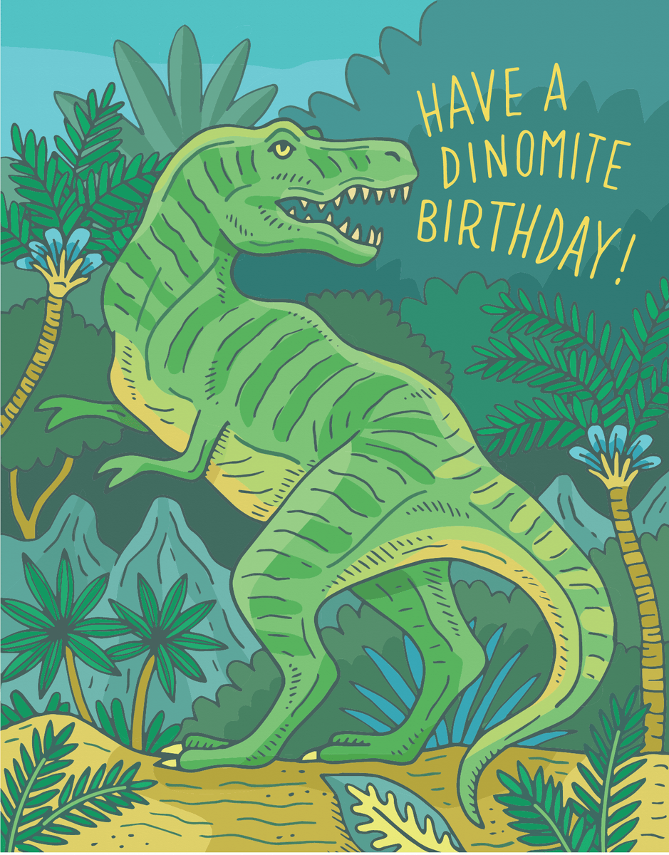 Dinomite Birthday