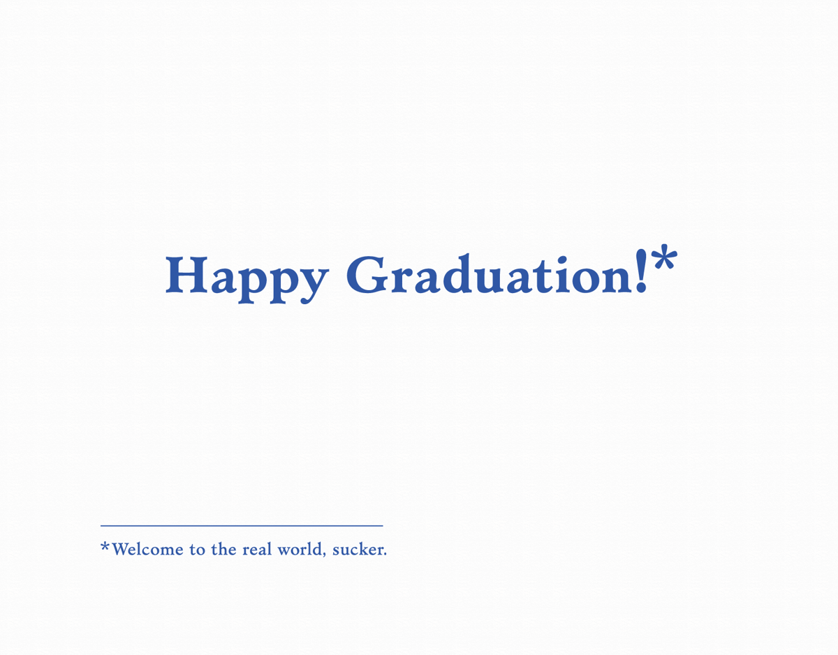 Happy Graduation