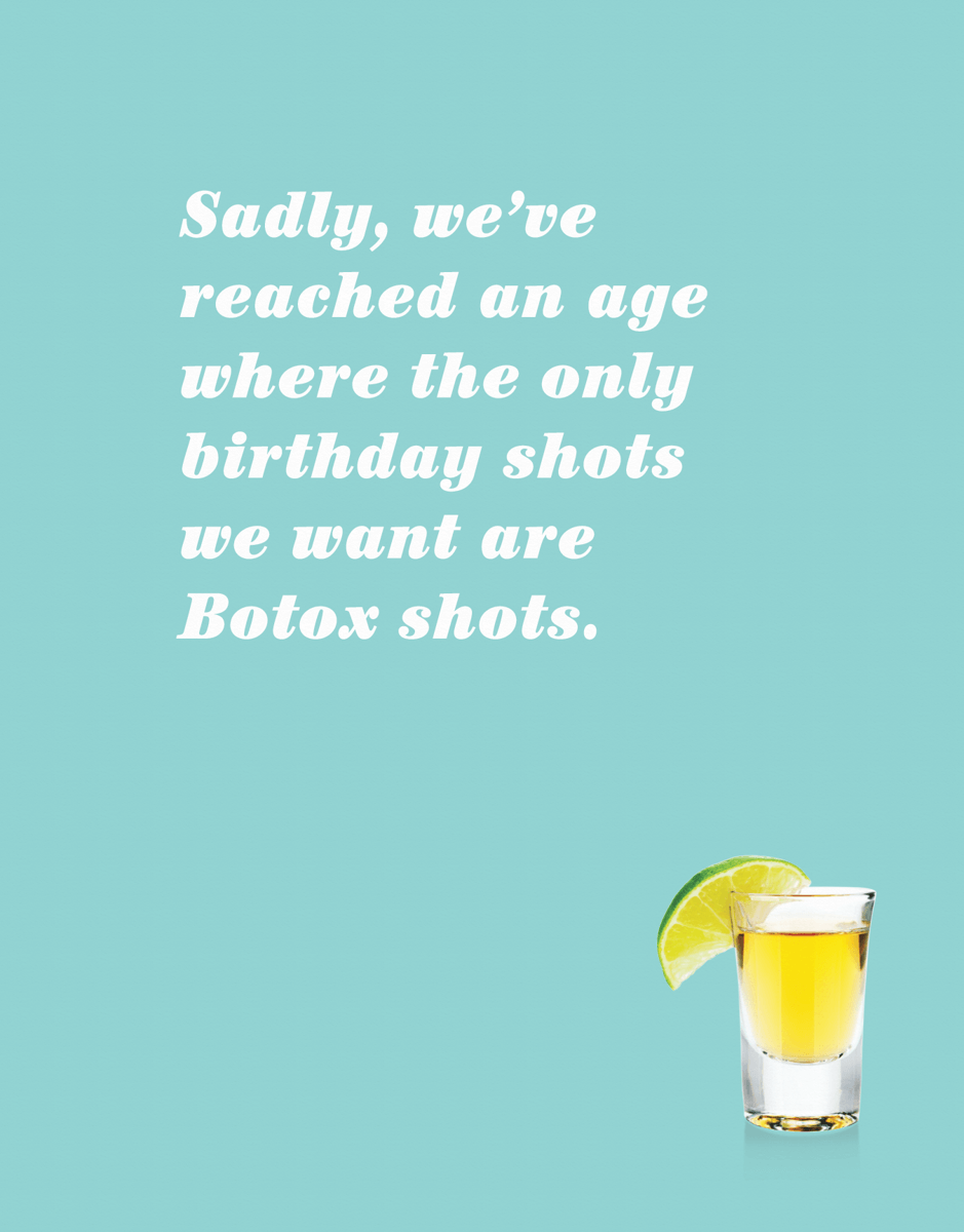 Birthday Shots
