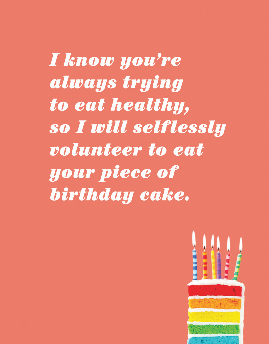 Selfless Birthday