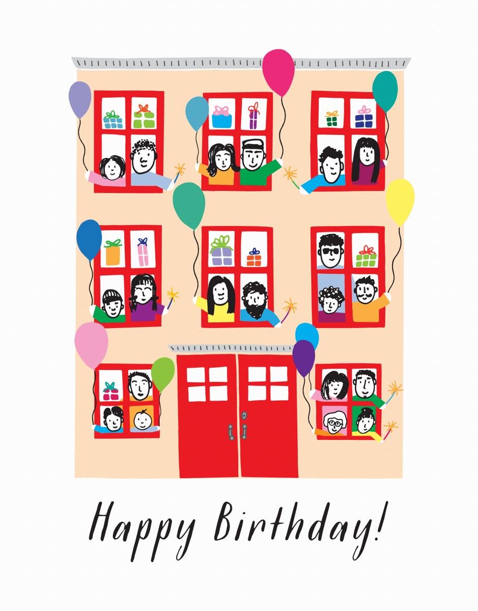 Birthday Townhouse