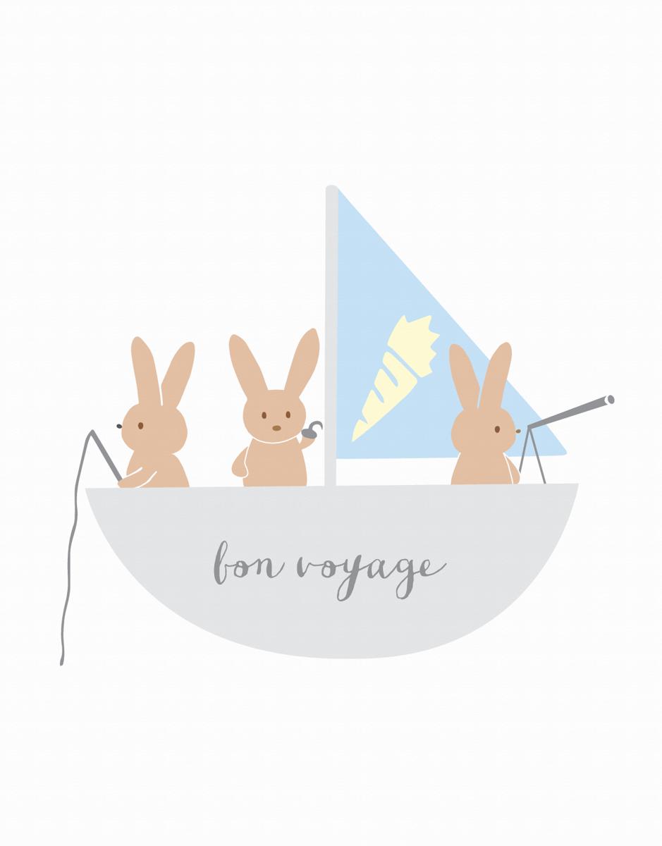 Bon Voyage Sailboat