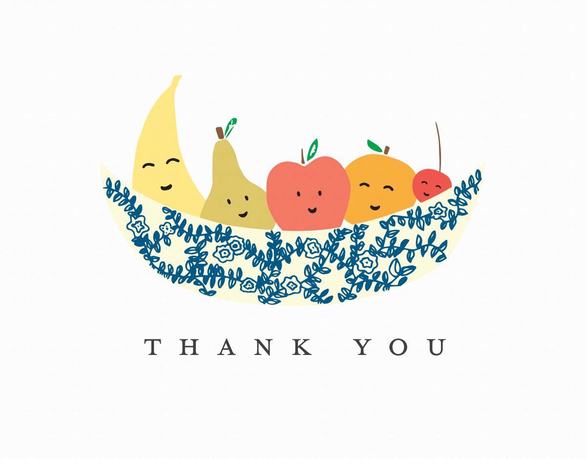 Thank You Fruit Bowl