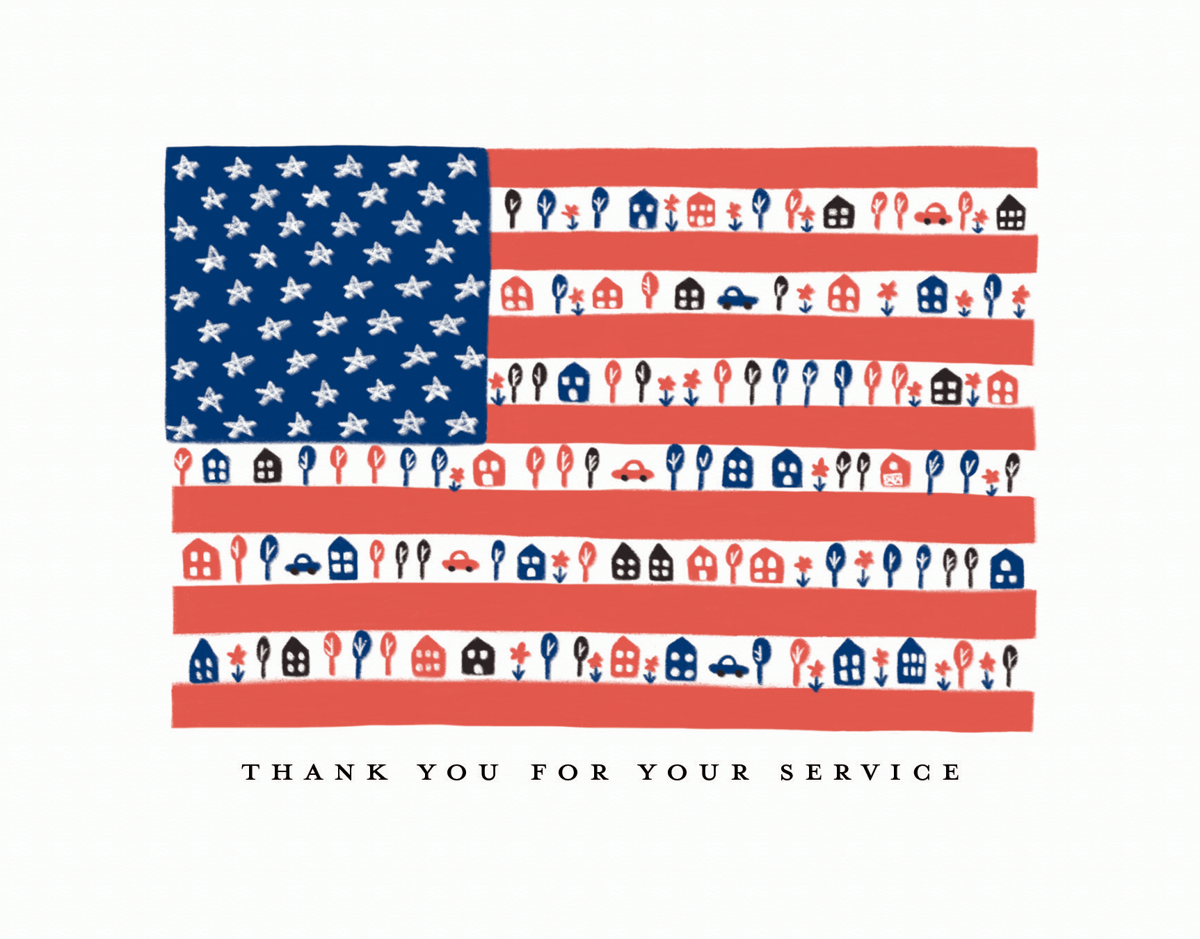 Flag Thank You