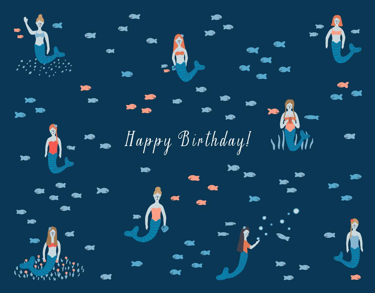Birthday Mermaids