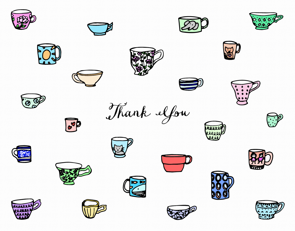 Thank You Teacups