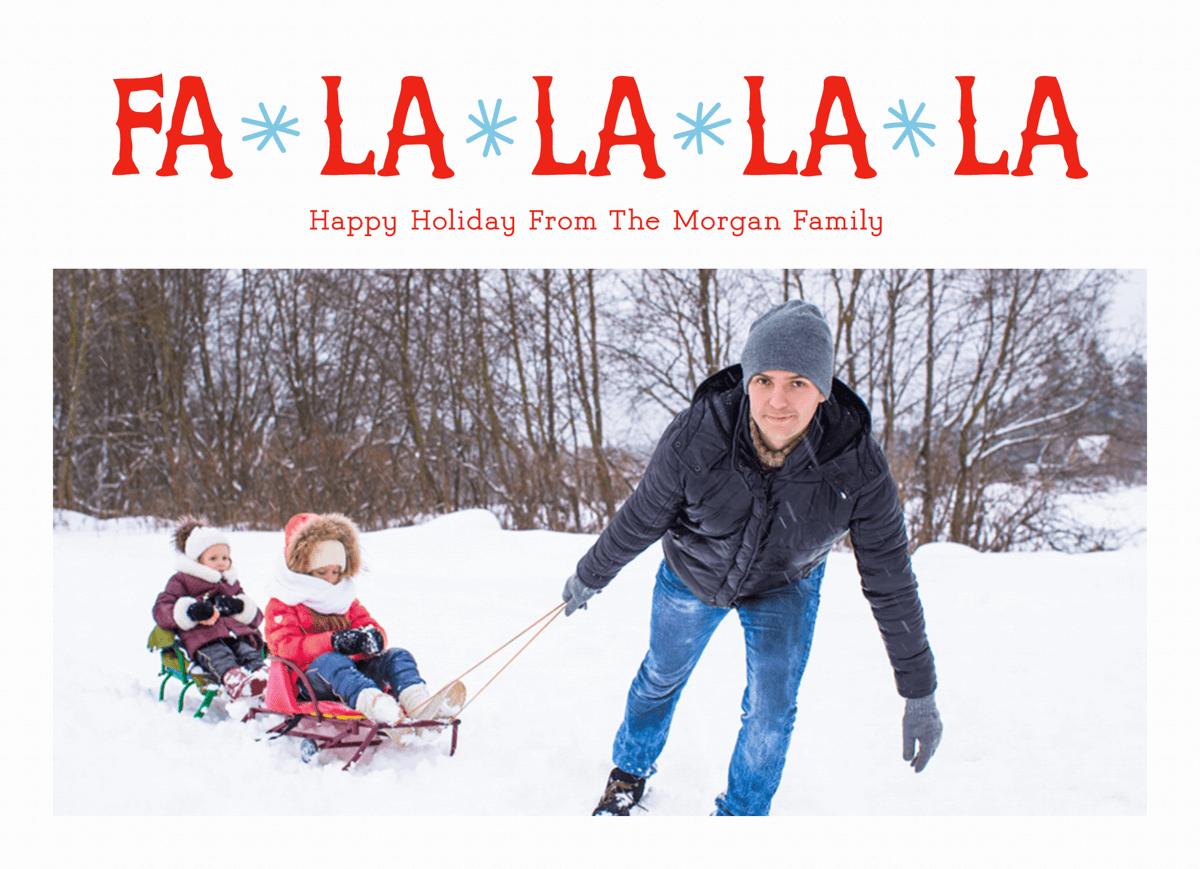 Fa La La La La Snow