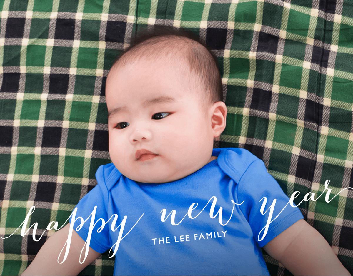 Happy New Year Overlay Card